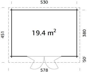 Lea 19,4 m2 Product Specs